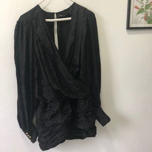 Limited Edition silk Balmain x H & M dress